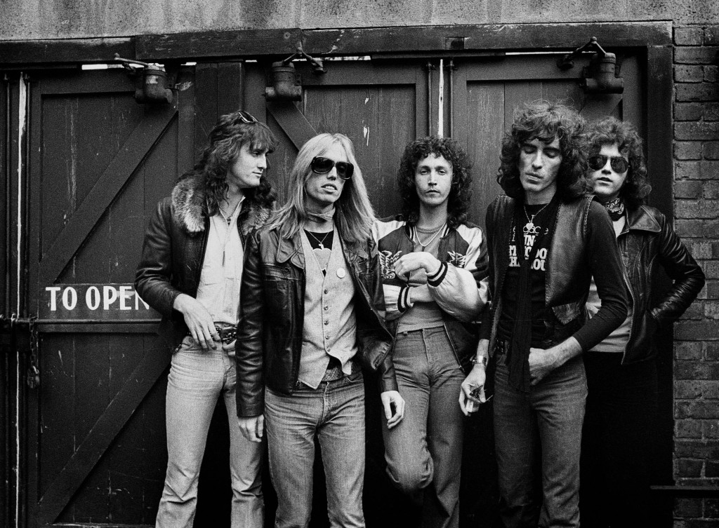 Tom Petty and the Heartbreakers Left to Right: Ron Blair, Mike Campbell, Beamont Tench, Stan Lynch, Tom Petty It was taken behind the studio that they were using in San Francisco in  1979