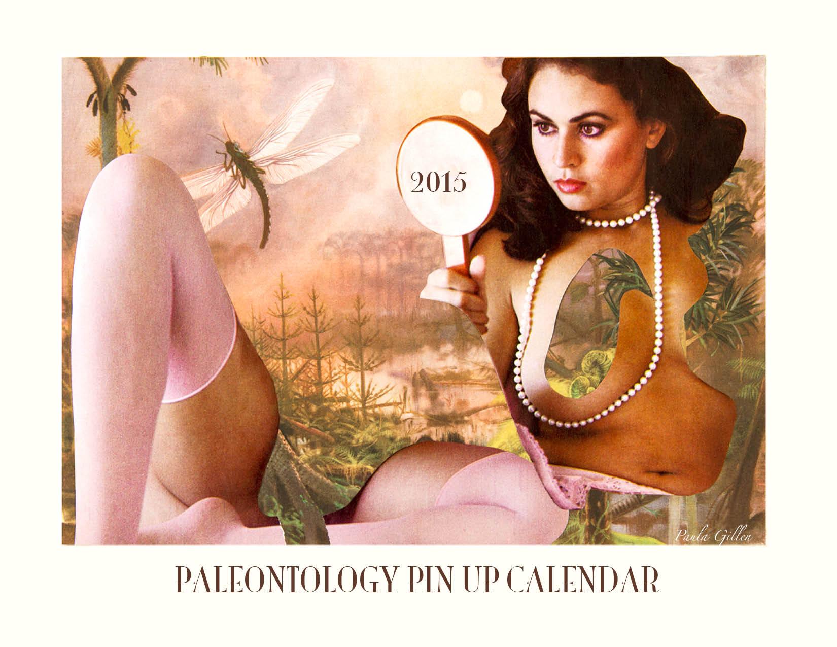 PaleoPinUpCalendar2015
