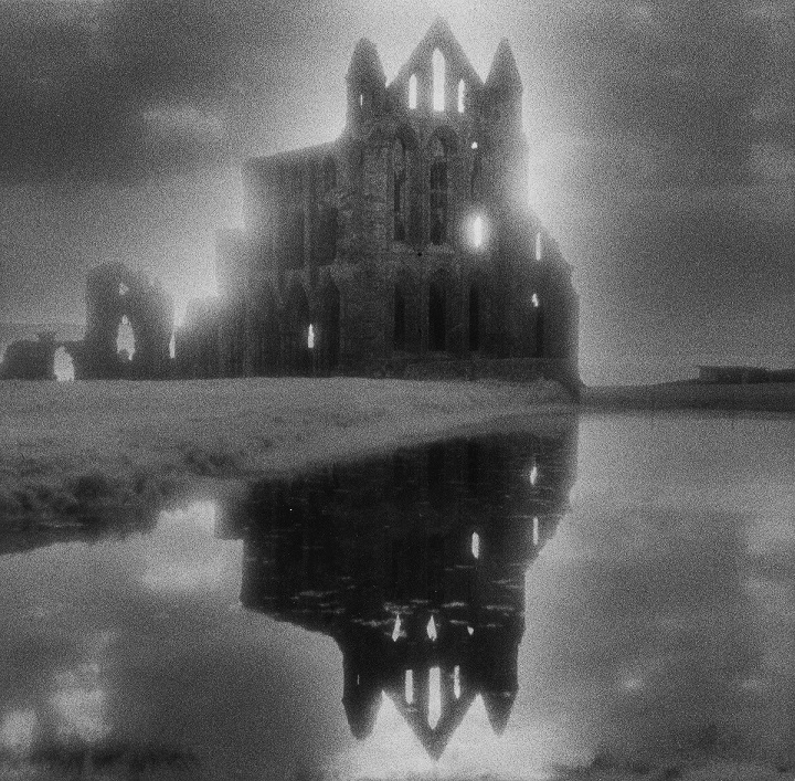 Whitby Abbey – a famous ruined Abbey in England used in the Dracula novel by Bram Stoker