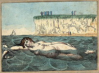 © Wellcome Images CC / DIOMEDIA /A woman swimming in the sea