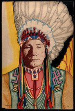 © Wellcome Images CC / DIOMEDIA / Yellowhead, a North American indian medical practitioner