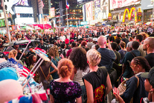 © Black Lives Matter protest in Times Square. Credit Gado Produced.